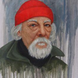 "Portrait. 18""x24"" oil painting. Not for sale."