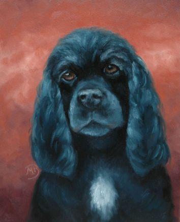 Memorial portrait, not for sale.