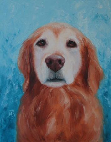 "Sugar Face. 11""x14"" oil painting. Memorial portrait, not for sale."